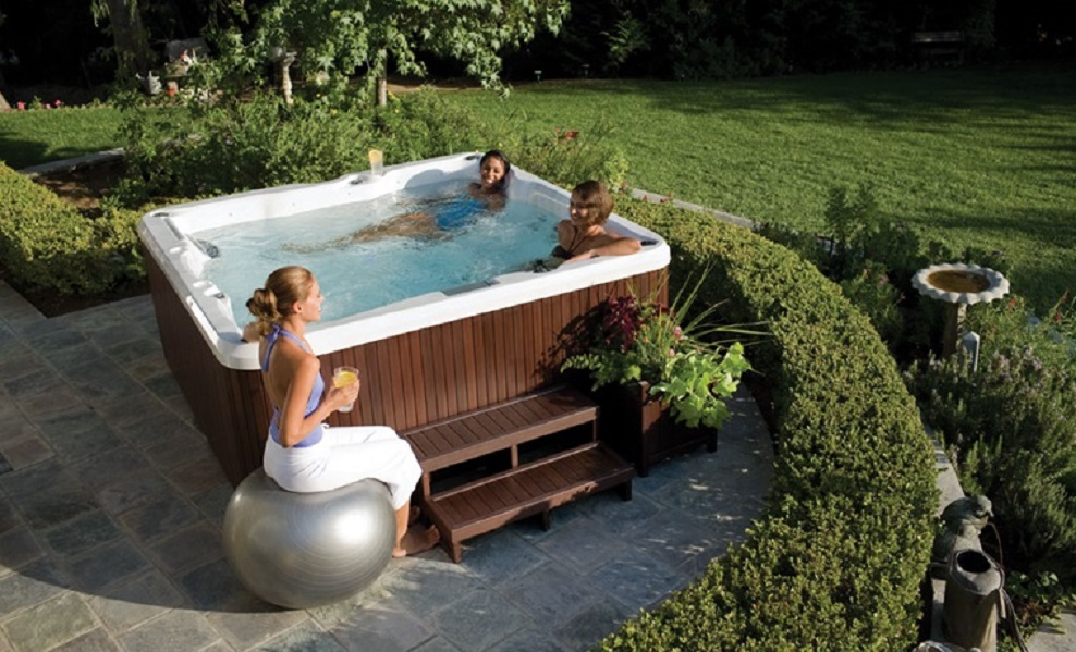 Jacuzzi J-235 Whirlpool Teuco Hydrospa Baltes Swim Spa Home Trier