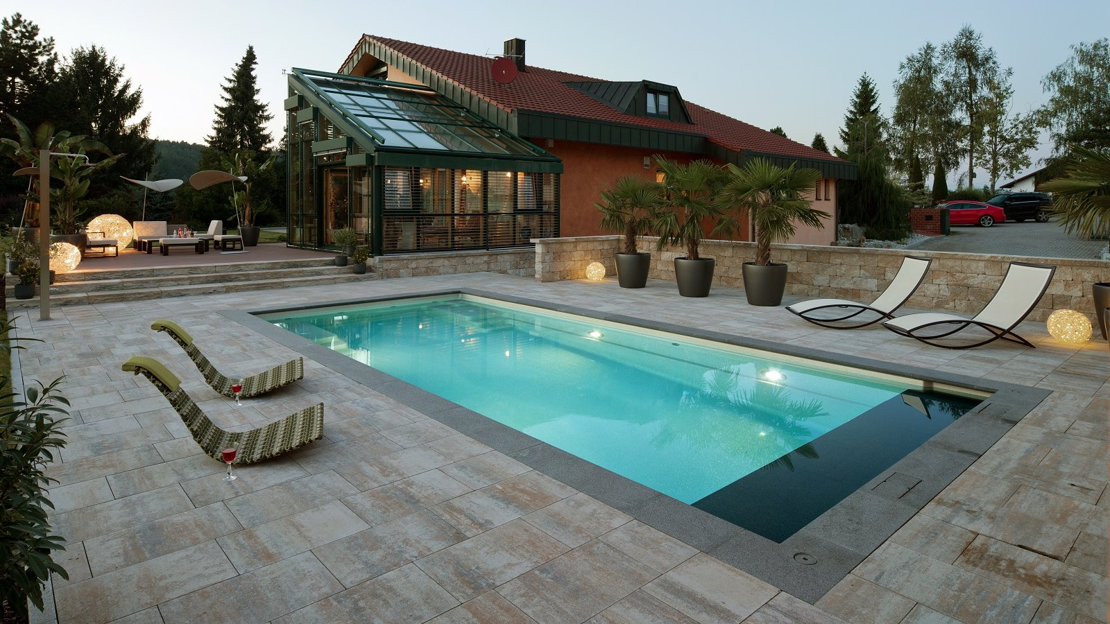 Ceramic Composite Pool