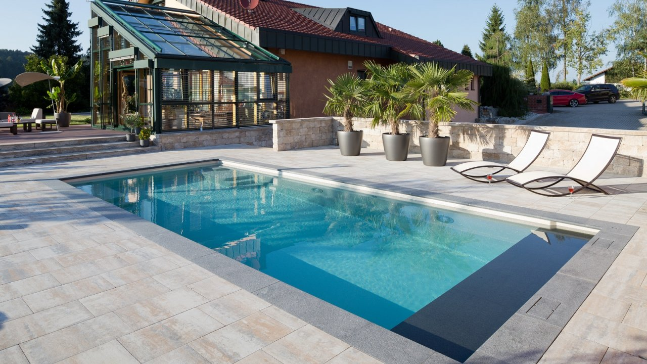 Ceramic Composite Pool  Baltes Swim Spa Home Trier Luxembourg