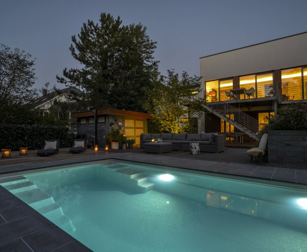 Compass Carbon Ceramic Pool Installation in Trier, © Baltes Swim Spa und Home GmbH Luxembourg