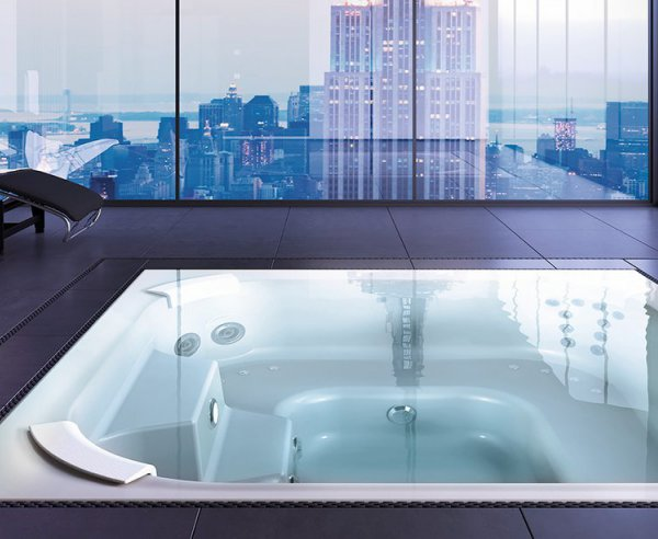 Riviera Wave Highline 225 Whirlpool Jacuzzi Teuco Hydrospa Baltes Swim Spa Home Trier
