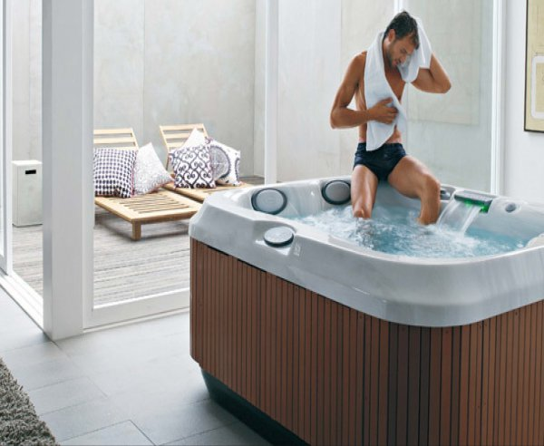 J-315 Whirlpool Jacuzzi Teuco Hydrospa Baltes Swim Spa Home Trier